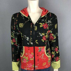 Anne Carson Asian Themed Hoodie Jacket & Pants XL